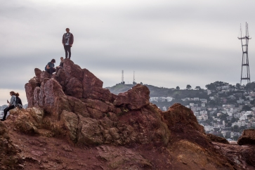 Seth Atop Corona Heights